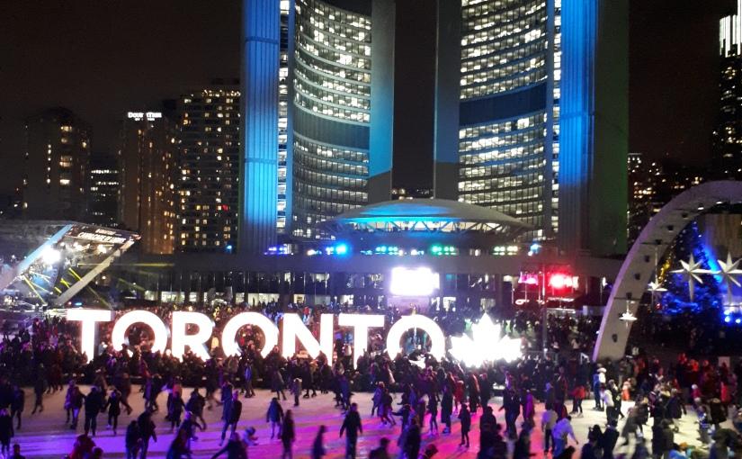 Atrações de Inverno e Natal em Toronto Nov/Dez2019